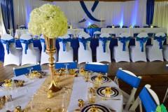 Gold Vase Table Centrepiece